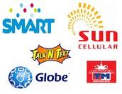 Globe, Smart, and Sun