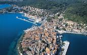 Korcula Island in Croatia