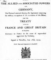 The Treaty If Versailles