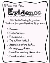 RACES-text evidence writing
