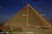 used in pyramids