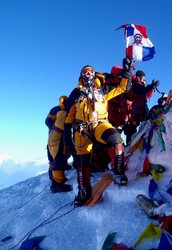 Our goal is to put the youngest person on top of Mount Everest! And that could be you!