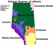 Landforms In Rocky Mountain Region