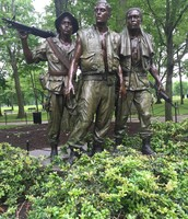 The Three Soldier Statue
