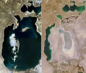 זיהום האדם על הנהרות שגורם להיתייבשות