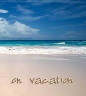 Vacation Reminder