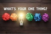 What is your (1) Thing?