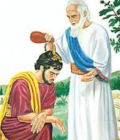 המלכת שאול למלך.