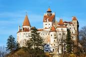 Bran castle(Draculas  castle)