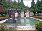 Monumento Hermanos Felgueroso. Parque de Rosario Felgueroso