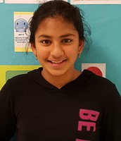 Tanvi Bolarum, Reporter 6th Grade
