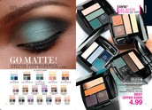 New:  Matte Eyeshadow Quads