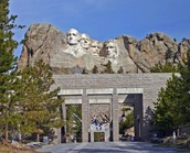 Entrance Of Mount Rushmore