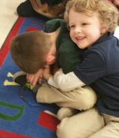 Hugging a Friend