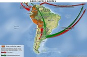 Routes In South America