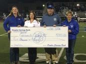 People's Savings Bank Donates $5,000 to GC R-I