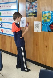Dictionary Skills with a QR Code Twist