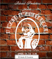 "Admiral Productions Presents ""I Hate Shakespeare!"" in the Courtyard"