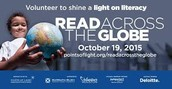 Read Across the Globe - October 19th from 10-10:30