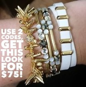 Renegade, Isabelle, and Remy bracelets!