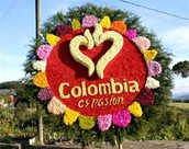 Colombian Festival Sign