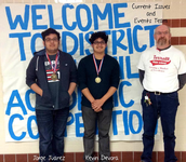 UIL Current Issues & Events Team Win in District