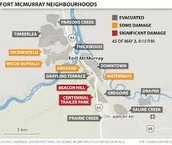 Evacuations in Alberta
