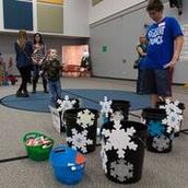 Snowflake Toss