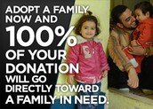 How to Adopt a Family Or Make a Donation