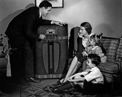 Radio in the homes of americans, people were facsinated