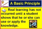 Extending and Applying Knowledge