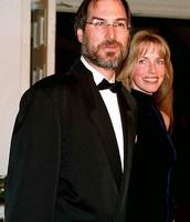 Steve Jobs and Laurene Powell