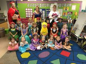 Fairy Tale Dress Up Day Class Picture
