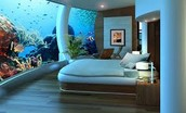 Underwater Dining & Sleeping