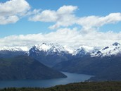 Las Montañas Andes