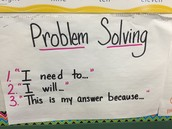 Problem Solving Stems