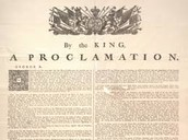 George's Proclamation