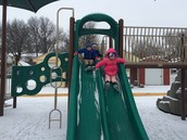 Snow sliding