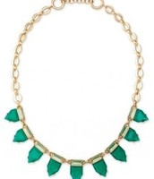 Emerald Eye candy necklace