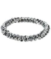 SOLD !!!!!!      Vintage Twist Bracelet - Silver