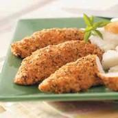 5.seasoned chicken strips