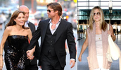 Angelina Jolie + Brad Pitt&Jennifer Aniston= Bradgelina + Jennifer Anniston