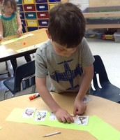 Sequencing the story.