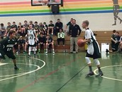 Boys' Basketball Action vs. Root
