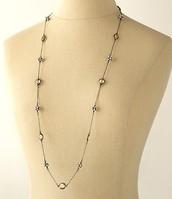 Chelsea (hematite) necklace