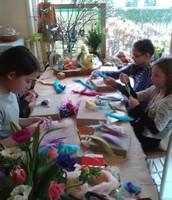 Wat maken meisjes van 11 voor hun Verjaardag ? Juist ....ELFJES !!