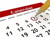 Central Elementary Calendar