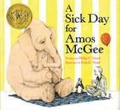 A Sick Day for Amos McGee by: Phillip Stead