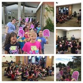 1st grade Panthers take a walking field trip to the Austin Public Library!