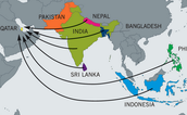 Where most migrant workers come from: